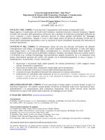 Programma consuntivo Scienze della Comunicazione 2014