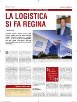"""Articolo pubblicato su """" Il Giornale della Logistica"""