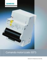 Brochure comando motorizzato 5ST305