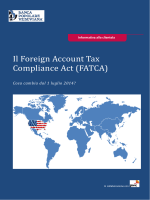 Il Foreign Account Tax Compliance Act (FATCA)
