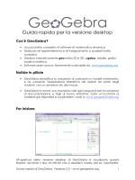 Guida Rapida ggb desktop