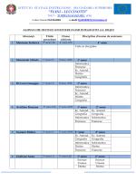 calendario attivita - Fiani