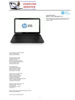 Cod. Articolo 06.2181 F0Z61EA - HP 255 - 0888182363218