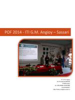 Documento - Istituto tecnico industriale Angioy