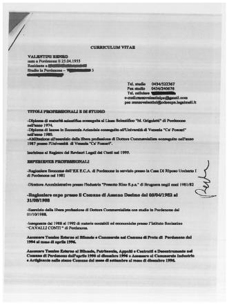 Curriculum vitae dott. Valentini Renzo [pdf