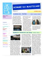 GOMME DA MASTICARE - 4° circolo di Rivoli