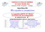 TORNEO INTERSCOLASTICO ULTIMATE FRISBEE
