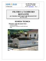 FILTRO A TAMBURO ROTANTE – tipo FRO.AQC