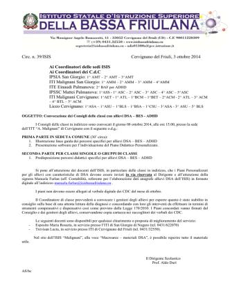 039ISIS - CdC DSA-BES-ADHD