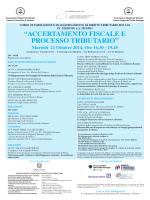 Programma - Centro di Diritto Penale Tributario