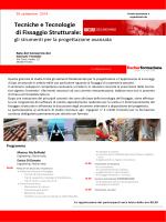 Tecniche e Tecnologie di Fissaggio Strutturale: