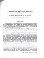 Determinazione dei composti polinucleari nel materiale particellare