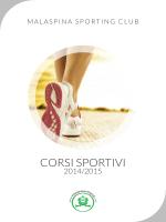 corsi sportivi 2014-2015 - Malaspina Sporting Club