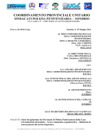 stato agitazione sondrio documento unitario