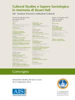 Locandina - Università Cattolica del Sacro Cuore