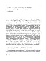 Minime note sulla prima edizione milanese de La