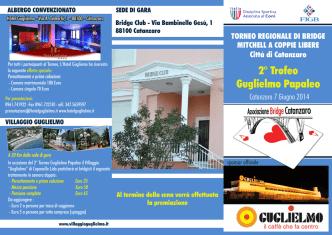 2° Trofeo Guglielmo Papaleo - Associazione Bridge Catanzaro