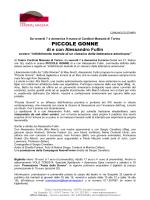 Piccole Gonne (di e con Alessandro Fullin)