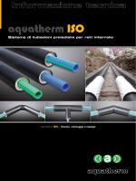 Aquatherm ISO- CATALOGO