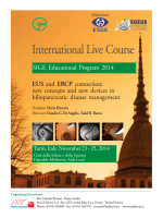 SIGE International Live Course - EUS and ERCP connection