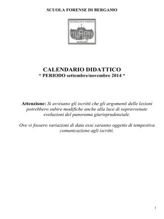 clicca qui - Scuola Forense Bergamo