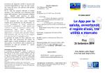 CONVEGNO APP sanitarie 25 settembre 2014