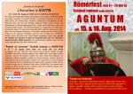 Plakat Römerfest