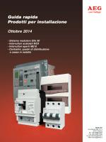 Guida rapida Prodotti per installazione Ottobre 2014