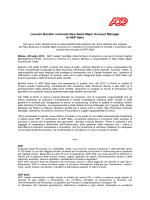 Lorenzo Bandini nominato New Sales Major Account Manager