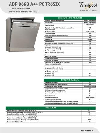 ADP 8693 A++ PC TR6SIX