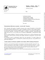 REGIONE TOSCANA Giunta Regionale Prot. N. Data Ai Direttori