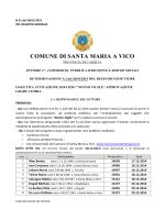 clicca per aprire - Comune di Santa Maria a Vico
