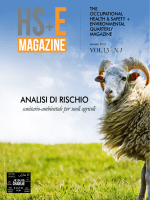 Vol.13 – N.1 - HS+E Magazine