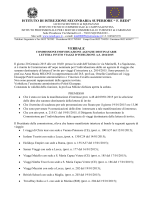 Verbale Commissione - Istituto Istruzione Secondaria Superiore