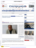 Matematici da sette università a Uniud per Livio Clemente Piccinini