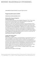 Programma delle mostre nel 2015 (PDF 123KB)