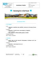 rassegna stampa 23 gennaio 2015