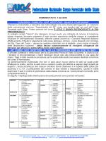 il Comunicato - UGL Corpo Forestale
