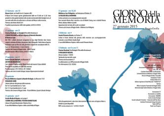 27 gennaio 2015 - Anpi Reggio Emilia