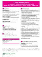 la legge di stabilità 2015
