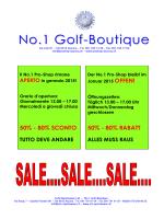 No.1 Golf-Boutique - S+M Sportswear Ltd.