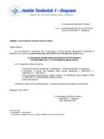 Convocazione Tavalo Anziani 26 gennaio 2015 ore 14.30 Sala