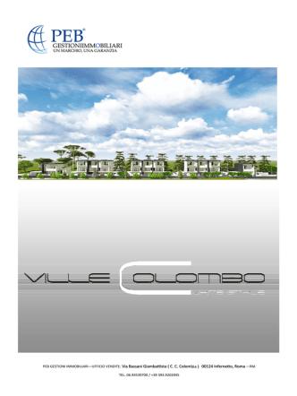 Brochure - Casa Infernetto PEB Immobiliare