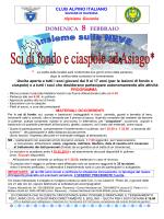 locandina - CAI Sezione di Ravenna