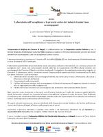 16/01/2015 - Percorso di formazione interdisciplinare sui Minori