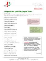 Programma - Scout Mendrisio