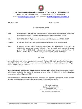 decreto_pubblicazione_3_fascia ATA 2014 - IC4