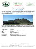 """Monte Moscal Affi (VR) - Gruppo Alpinistico """"Amici di S.Martino BA"""""""
