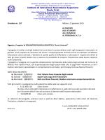 Istituto di Istruzione Secondaria Superiore Paolo Frisi Circolare nr