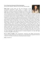 D.r. Alessia Vacca - Università degli Studi di Sassari